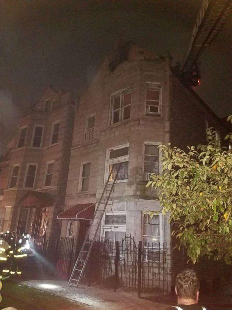 Opt copii au murit într-un incendiu în Chicago