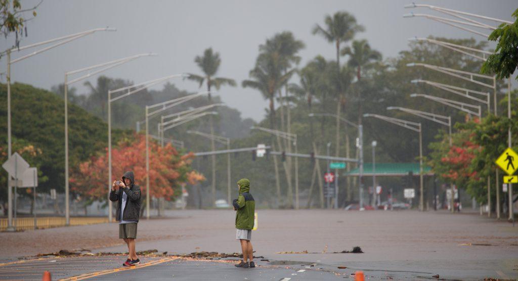 Uraganul Lane a produs pagube importante în Hawaii în primele ore după ce a ajuns la arhipelag