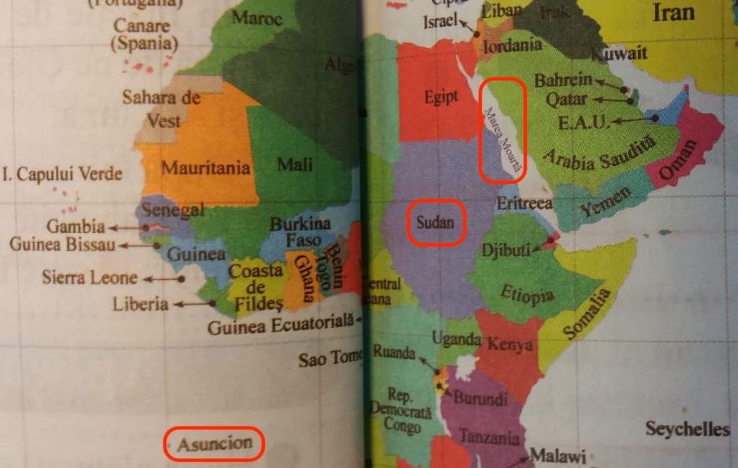 Manualul de Geografie de clasa a VI-a, plin de erori. Editura spune că manualul a fost clasat pe locul I și a primiv aviz științific