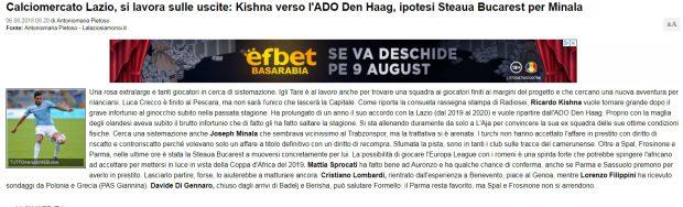 Joseph Minala, la FCSB?! Fotbalistul în vârstă de 21 de ani de la Lazio a fost subiect de glume, dar și de suspiciuni legate de vârsta reală