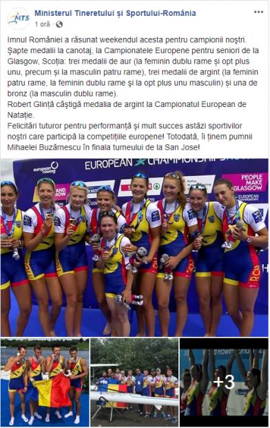 EXCLUSIV | Premiile MTS pentru medaliații la Campionatele Europene 2018. A intrat în vigoare, pe 30 iulie, noua grilă de premiere. Ioana, scoate milionul de lei!