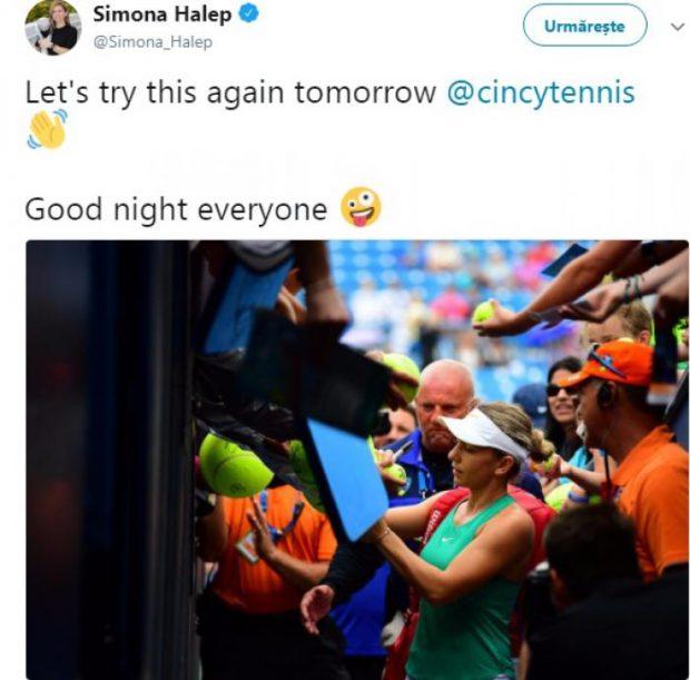 Simona Halep - Ashleigh Barty, în optimile turneului de la Cincinnati. Simo, calificare cu primul serviciu  / VIDEO