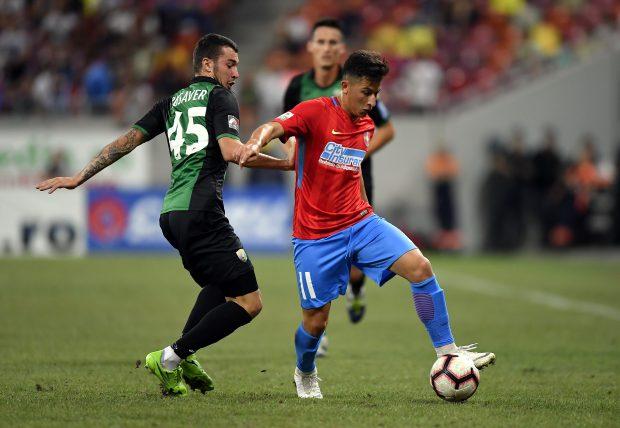FCSB - Rudar Velenje 4-0, în turul 2 preliminar din Liga Europa. Roș-albaștrii s-au distrat cu slovenii. Toate declarațiile. Urmează dubla cu Hajduk Split, din turul 3 / FOTO