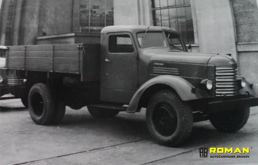 SR-101, primul camion românesc