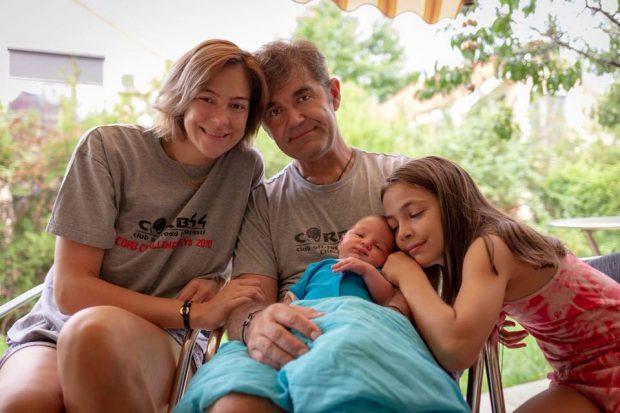Roxana Ciuhulescu a scăpat de ce s-a temut. Fiica sa, Ana Cleopatra, e topită după frățiorul ei