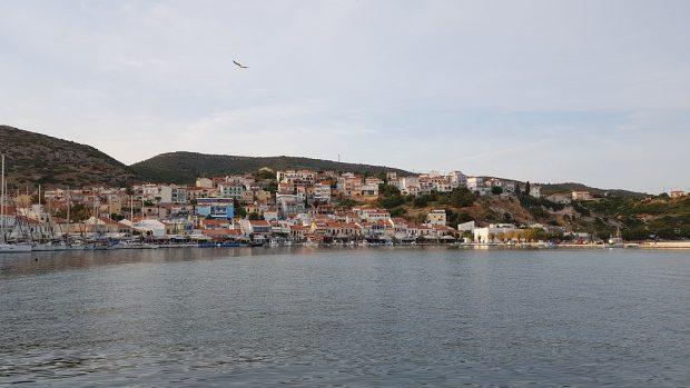 InsulaSamos din Grecia, locul unde s-a născut Pitagora