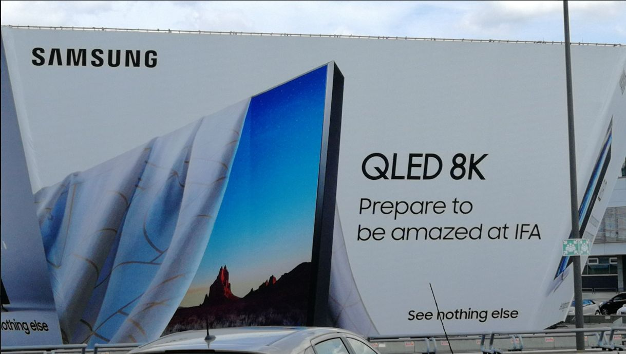 Primul televizor Samsung QLED 8K va fi lansat la IFA 2018. Anunț în Berlin