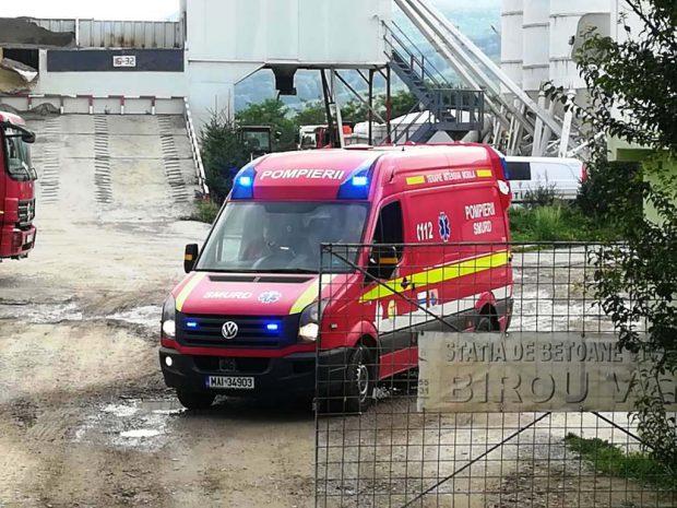 Un muncitor a murit la o fabrică de betoane din Piatra Neamț
