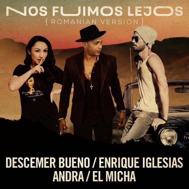 """VIDEO/ Videoclipul în care apar Andra și Enrique Iglesias a fost făcut public. """"Este un vis devenit realitate"""""""