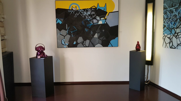 Jean Naturel şi-a expus întreaga colecţie de obiecte de artă într-o clădire istorică, recondiţionată, de pe strada Silvestru nr.3, din Bucureşti