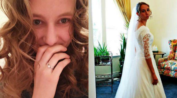 Claire Dalton se pregătea de nuntă (foto lovewhatmatters.com)