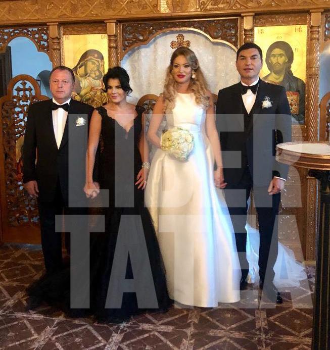 CORESPONDENȚĂ DE LA BUDAPESTA/ Nașii lui Cristi Borcea și ai Valentinei Pelinel au strălucit la nuntă. Ce rochie elegantă a purtat Irina Nicolae