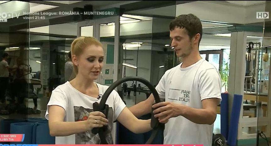 """Cum se menține Alina Sorescu în formă după două sarcini. """"A fost cel mai potrivit pentru mine"""""""