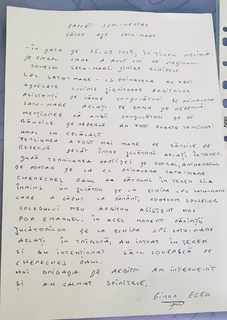 Un antrenor de la Primavera Satu Mare 2003 a lovit un copil de la echipa adversă | VIDEO