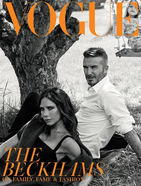 Familia Beckham, apariție de excepție în revista Vogue. Victoria a vorbit despre despărțirea de David