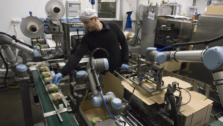 Roboți industriali