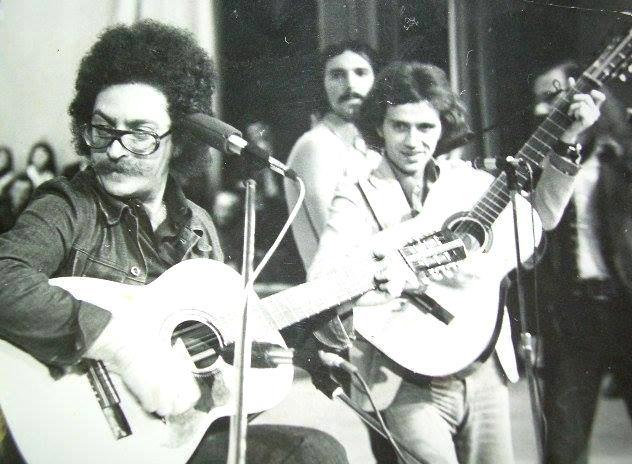 Evandro Rossetti, folkistul italian descoperit la Cenaclul Flacăra, și-a sărbătorit ziua la București, după 40 de ani