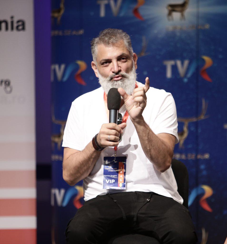 Damian Drăghici își gândește singur toate show-urile