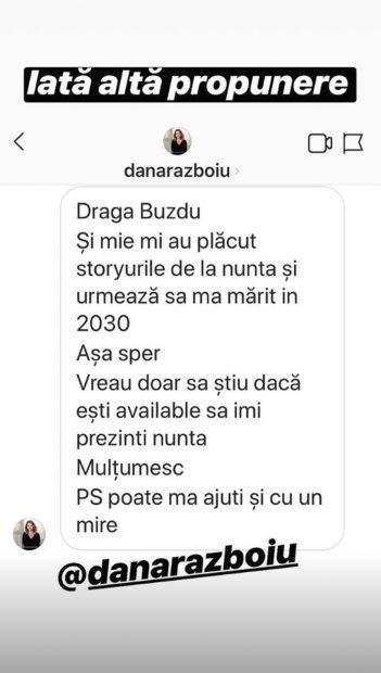 """Mesajul primit de Daniel Buzdugan din partea unei prezentatoare celebre. """"Vreau doar să știu dacă ești disponibil"""""""