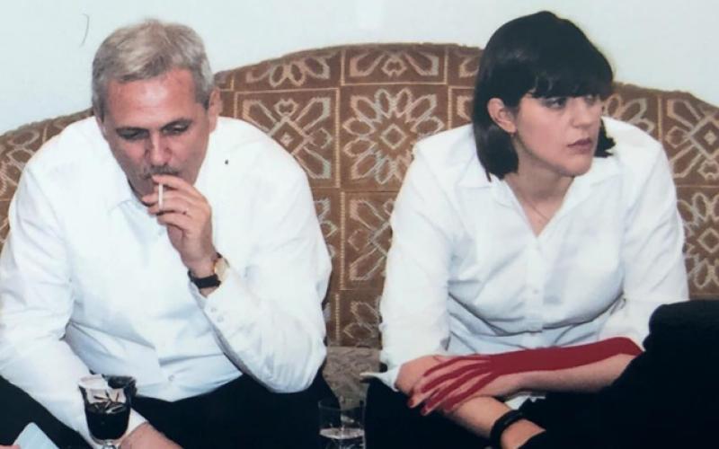 Detaliul care a atras atenția în fotografia cu Dragnea, Maior și Kovesi. Ce avea la mână fosta șefă DNA