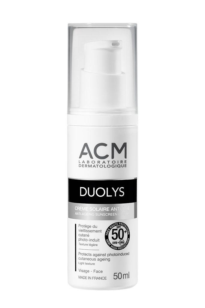 (P) Luptă împotriva îmbătrânirii tenului cu noua gamă ACM: Duolys