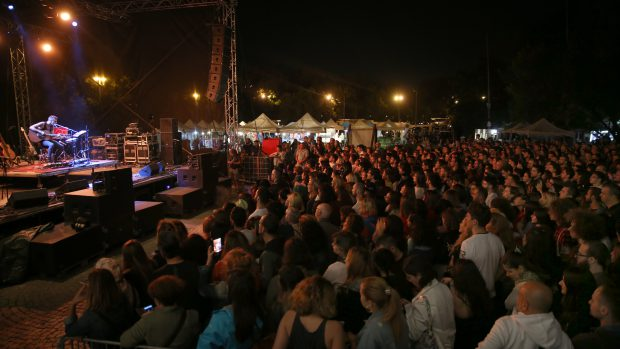 Asaf Avidan și-a încântat publicul la Balkanik Festival FOTO: Florin Ghioca
