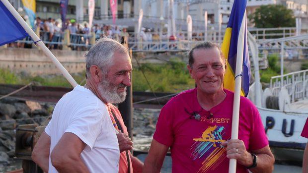 Flotila Centenar a lui Ivan Patzaichin: Şase bărci tradiţionale din lemn concurează pe Tamisa