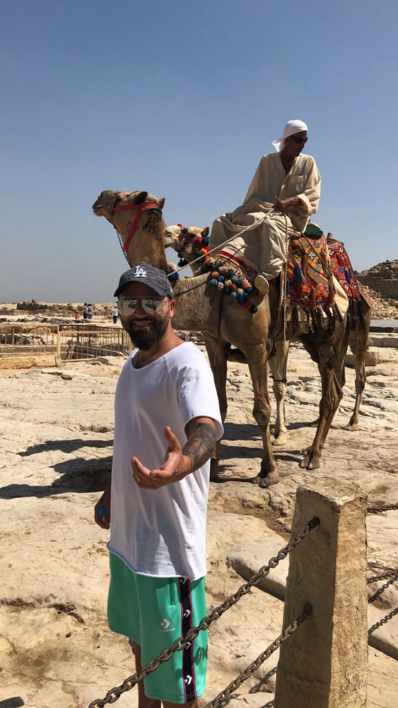 Matteo și-a făcut vacanța într-o zonă de risc a Egiptului