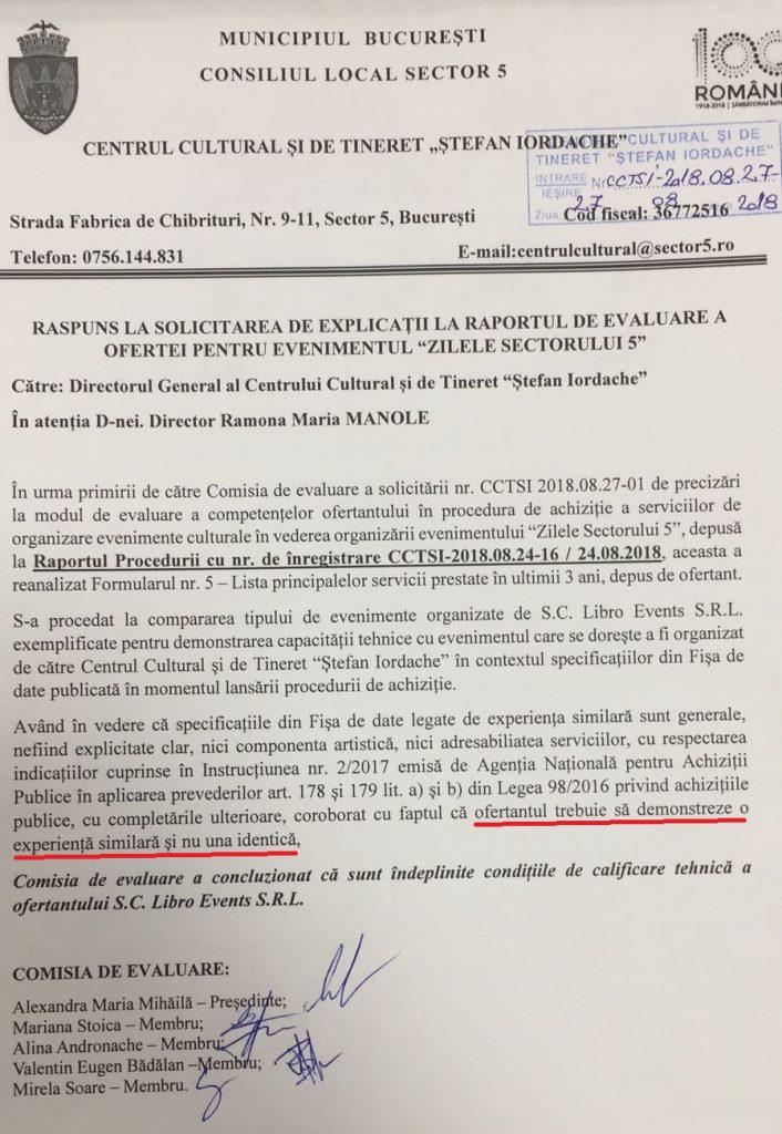 INVESTIGAȚIE EXCLUSIVĂ/Cât a încasat Bittman din cei 700.000 € cheltuiți pentru evenimentul aranjat în care a fost slăvit primarul Sectorului 5