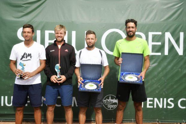 Sibiu Open 2018. Dragoș Dima a câștigat cel mai important turneu masculin de tenis al României / VIDEO