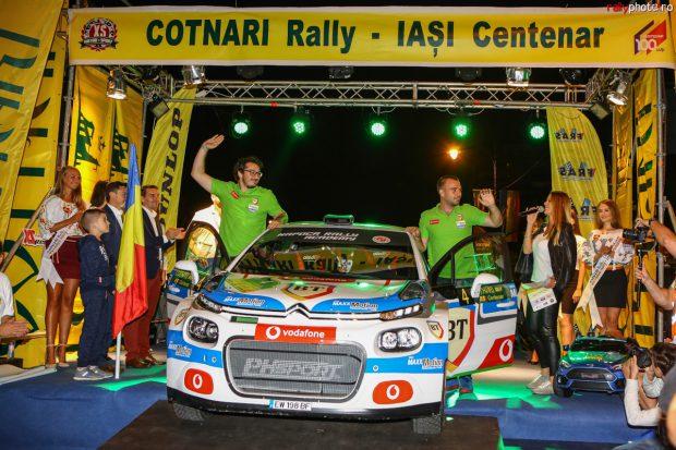 Tempestini a câștigat al treilea titlu în Campionatul Național de Raliuri