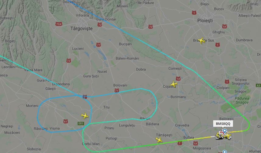 Incident grav! Un avion Blue Air a revenit pe Aeroportul Otopeni din cauza unor probleme tehnice