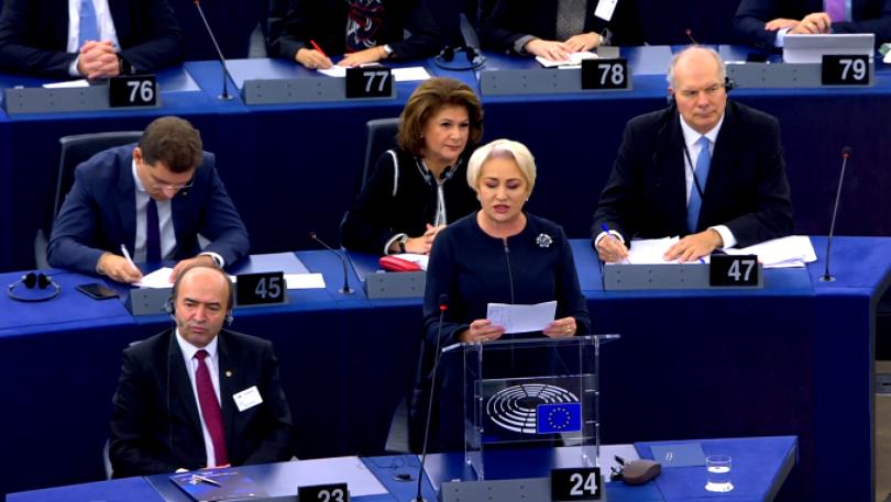 """Rareș Bogdan, dezamăgit total de discursul Vioricăi Dăncilă de la Strasbourg. """"Îmi vine să urlu de durere"""""""