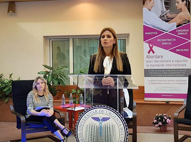 Centrul Integrat pentru Sănătatea Sânului, deschis la Spitalul Universitar de Urgență București