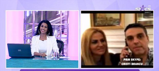 """Majda a prezentat singură emisiunea """"Agenția Vip"""". Ce s-a întâmplat cu Cristi Brancu"""