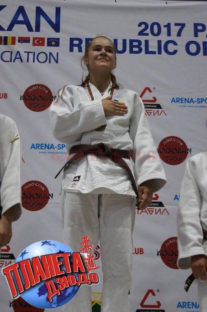 Cleonia Rîciu, bronz la Mondialele de judo pentru juniori. A făcut Liceul Adventist din Craiova, a intrat între primii la facultate