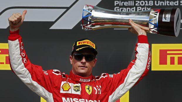 Kimi Raikkonen a câștigat Marele Premiu de Formula 1 al SUA. Hamilton mai are de așteptat până să