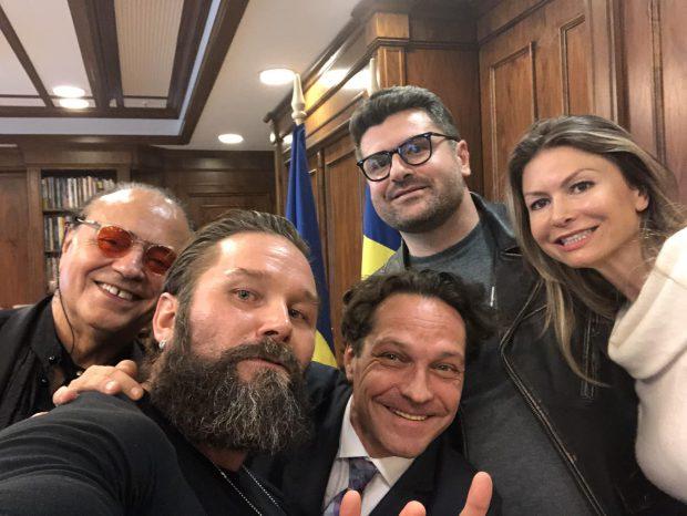 """George Ivașcu, la întâlnirea cu """"oficialii de la Hollywood"""""""