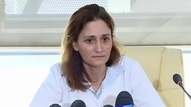 Doctorul Laura Bălănescu, de la Spitalul Sanador, care l-a operat pe băiețelul de un an și zece luni ce a murit la câteva ore după intervenție