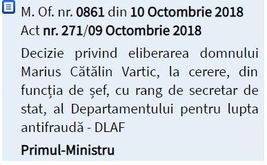 Demiteri în Guvern! Cine sunt oficialii eliberați din funcție de Viorica Dăncilă