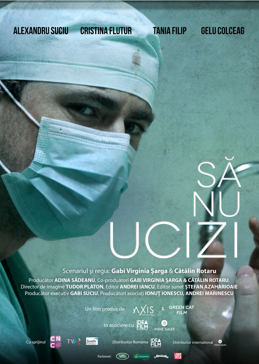 """""""Să nu ucizi"""", debutul regizorilor Gabi Virginia Şarga şi Cătălin Rotaru, va avea premiera mondială la Festivalul de Film de la Varșovia"""