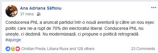"""Ludovic Orban, contestat în interiorul partidului. Mesaj identic transmis de parlamentari: """"Conducerea PNL nu uneşte, ci dezbină. Ajunge!"""". Se cer demisii!"""