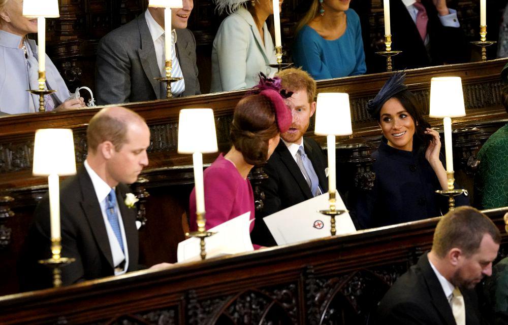 Tensiuni la nunta Prințesei Eugenie, din cauza lui Meghan Markle și a lui Harry. Ce a înfuriat-o pe mireasă