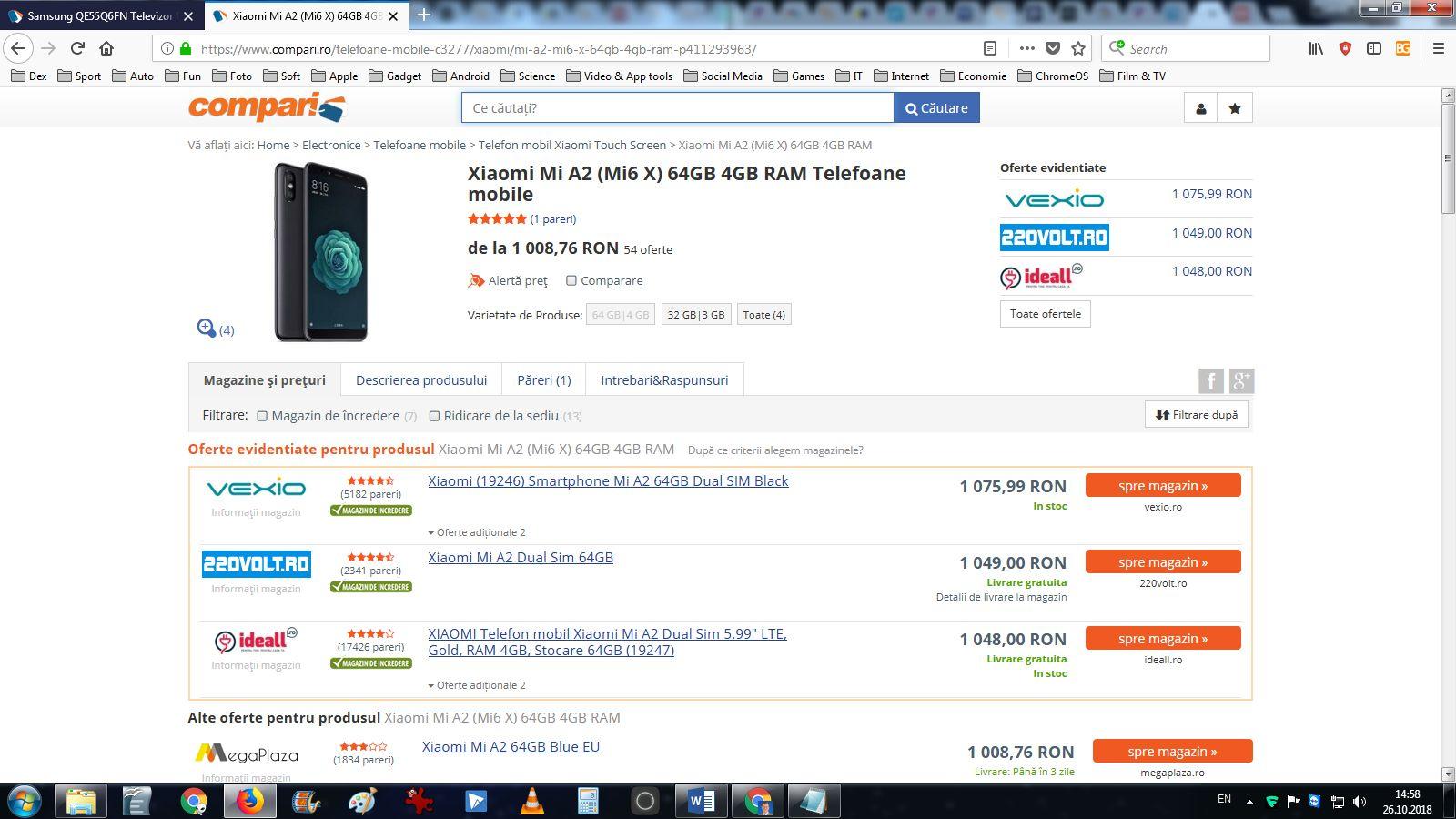 Xiaomi Mi Aa2 pe Compari.ro