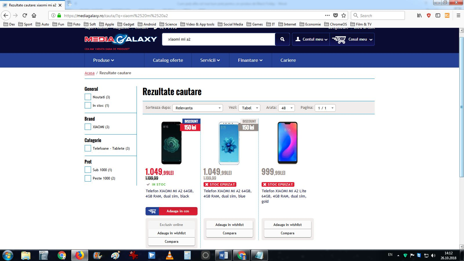 Xiaomi Mi A2 la Media Galaxy