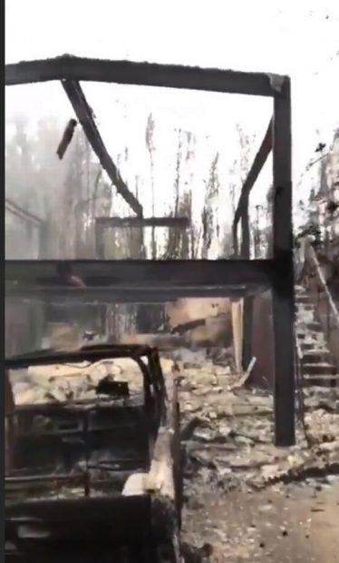 Gerard Butler și-a văzut casa făcută scrum FOTO: Instagram