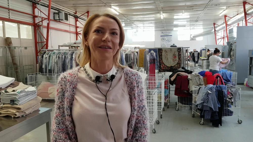 Cristina Tarasevici, proprietara spălătoriei de un milion de euro, care a pornit întreaga afacere de la o singură maşină de spălat