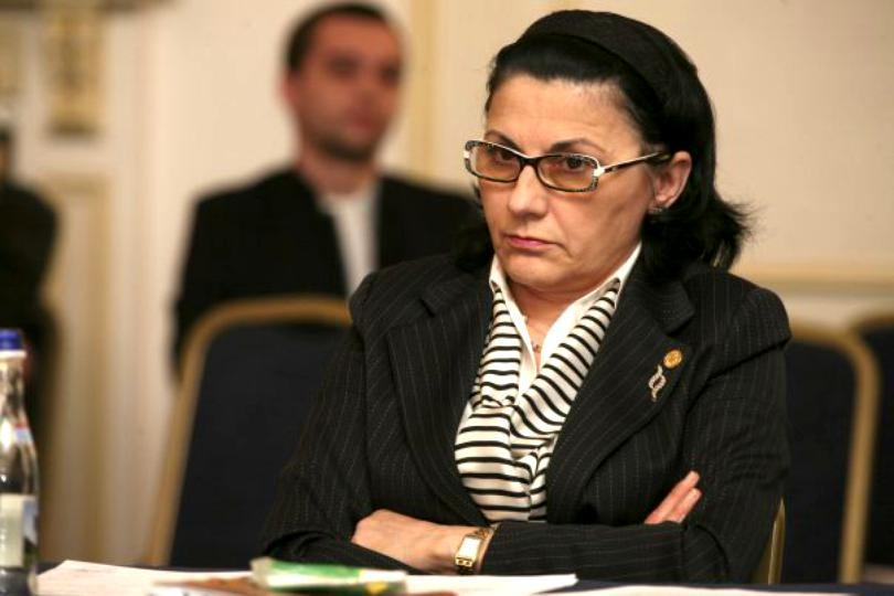 """Ecaterina Andronescu: """"Sunt acum în construcţie 2.300 de creşe şi grădiniţe"""