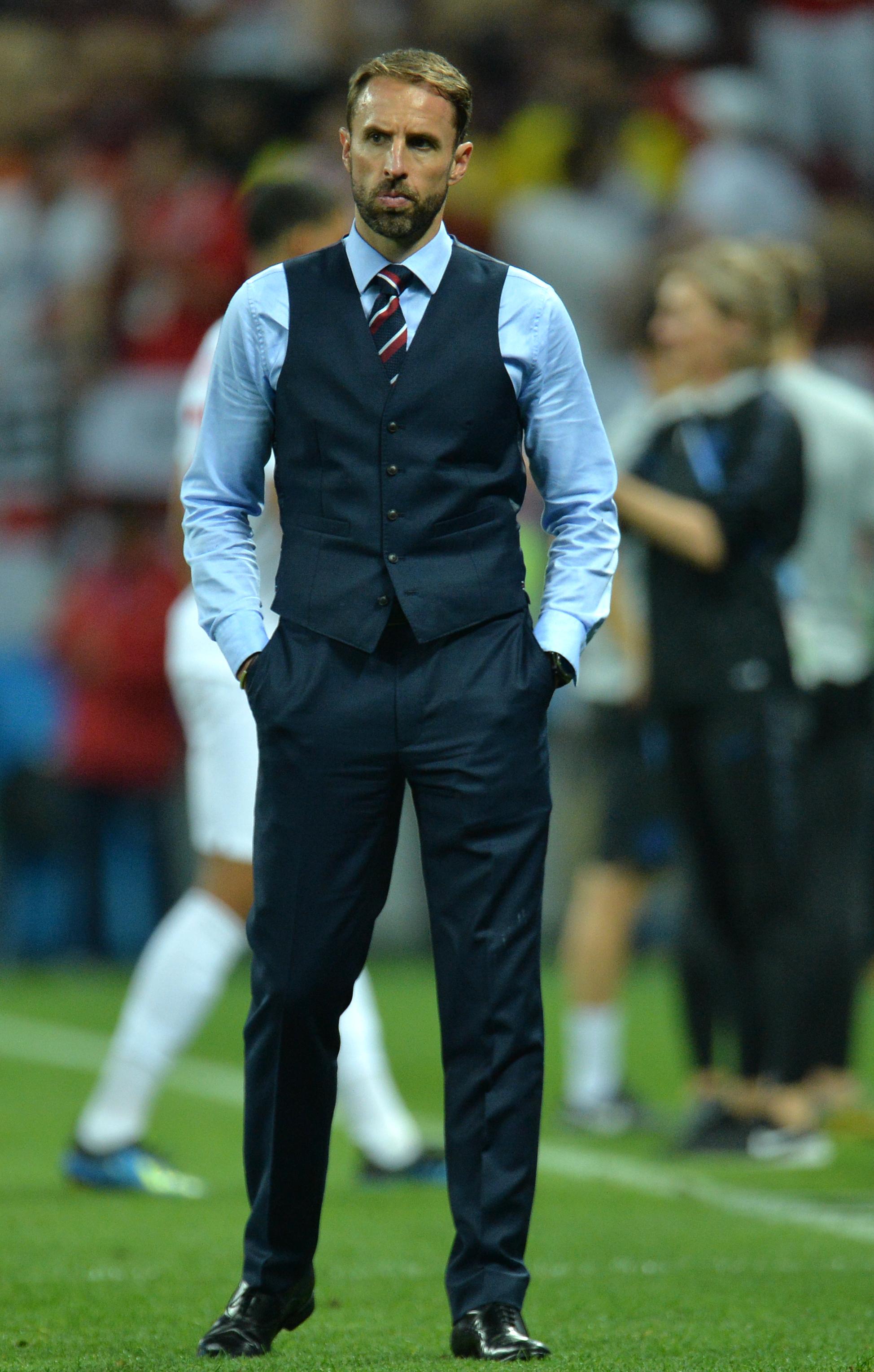 Gareth Southgate, la Cupa Mondială 2018.