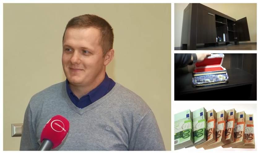 Ce recompensă a primit timișoreanul care a găsit 95.000 de euro într-o comodă cumpărată pe internet